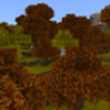 Fall is Here! Minecraft Texture Pack