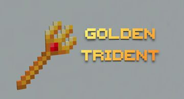 Golden Trident Minecraft Texture Pack
