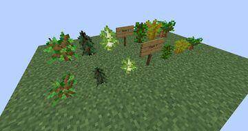 ZeffyEdits: Visual Sapling Growth Minecraft Texture Pack