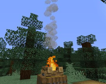 transparent smoke Minecraft Texture Pack