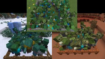 Creature Variety for 1.12 - Random Mobs Minecraft Texture Pack