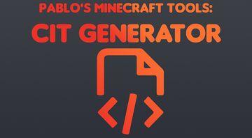 [Optifine] CIT Generator Tool Minecraft Texture Pack