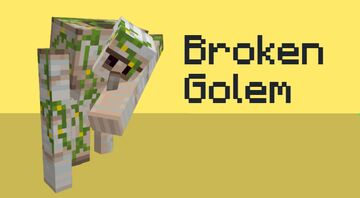 Broken Golem Minecraft Texture Pack
