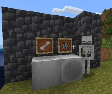 Skeleton like bones Minecraft Texture Pack