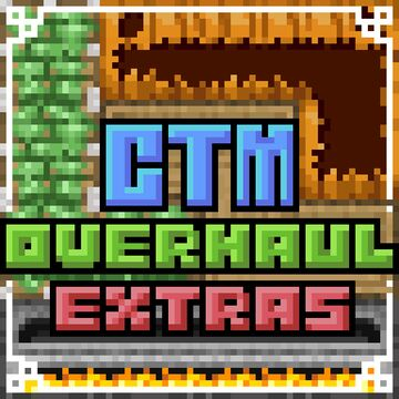Connected Textures (CTM) Overhaul: Extras Minecraft Texture Pack