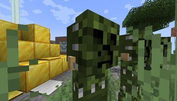 Crepper Camo Minecraft Texture Pack