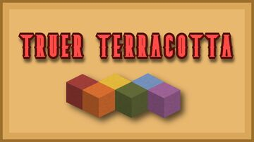 Truer Terracotta - Java Minecraft Texture Pack