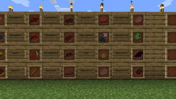 Name it. Get it. Food Edition. Minecraft Texture Pack