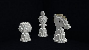 3D Chess Pack Minecraft Texture Pack