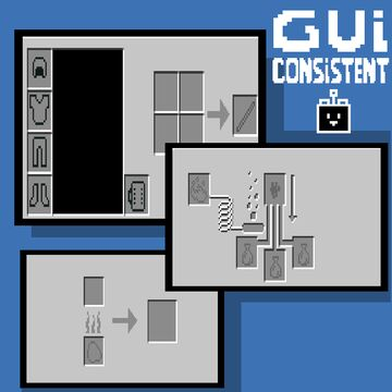 gui consistent Minecraft Texture Pack