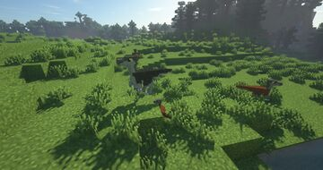 Animated Dinosaur Texture Pack [Stegosaurus] [OPTIFINE] Minecraft Texture Pack