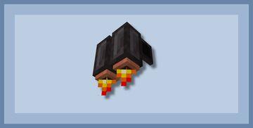 Jetpack Elytras - Bedrock Minecraft Texture Pack