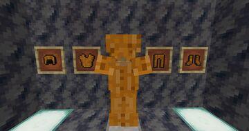 Golden Armor To Pumpkin Armour Minecraft Texture Pack