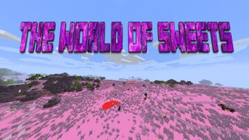 The world of sweets Minecraft Texture Pack