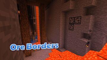 BrenyonRambo's Ore Borders Minecraft Texture Pack