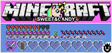 SWEET AND CANDY [WIN10] 🦄 Minecraft Texture Pack