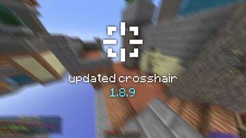 Updated Crosshair 1.8.9 Minecraft Texture Pack