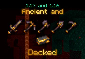 - Ancient and Decked: Gilded Netherite - 1.17 + 1.16 (DOWNLOAD TUTORIAL IN DESCRIPTION) Minecraft Texture Pack