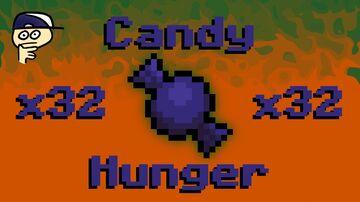 x32 FAITHFUL Candy Hunger Minecraft Texture Pack