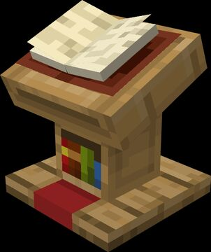 Lectern Book (Optifine) Minecraft Texture Pack