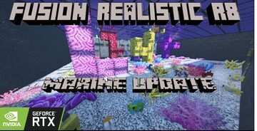 Fusion Realistic R8 Marine Update Minecraft Texture Pack