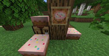 pink cake + sprinkles Minecraft Texture Pack