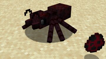 Cave Spiders to Ants! (Optifine) Minecraft Texture Pack