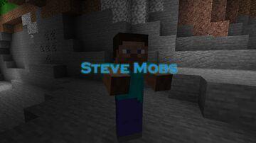 Steve Mobs Minecraft Texture Pack
