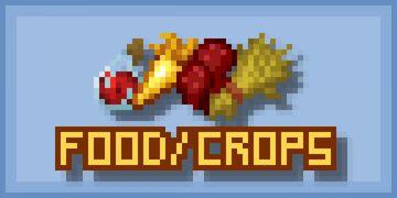 Consistent Food/Crops - Java Minecraft Texture Pack