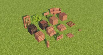 1.19 Mangrove Wood - The Wild Update Minecraft Texture Pack