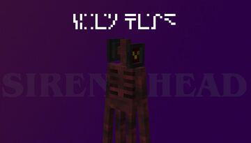 Siren Head Enderman Minecraft Texture Pack