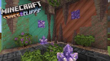 1.17 Caves & Cliff Tweaks Minecraft Texture Pack