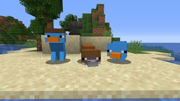 Perry the Platypus pack Minecraft Texture Pack