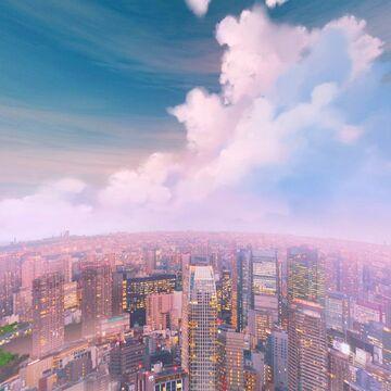 Yuruze's Big Cloud City Overlay (Day & Night) Minecraft Texture Pack