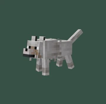 wolly dog Minecraft Texture Pack