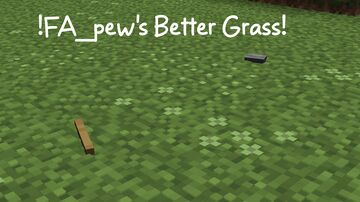 FA_pew's Grass Pack Minecraft Texture Pack