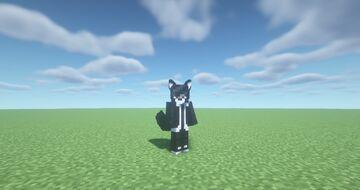 Black Werewolf Ears & Tail [CIT Texture Pack] Minecraft Texture Pack