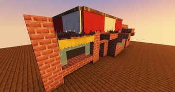 Fancy Windows (Smooth glass and curtains!) Minecraft Texture Pack