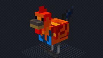 Chicken = Rooster! Minecraft Texture Pack