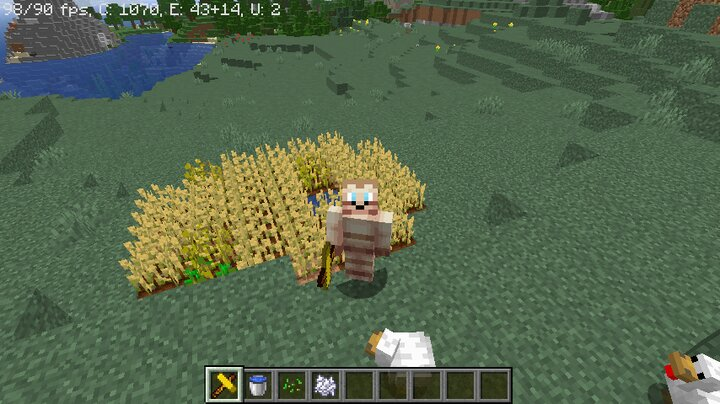 Farming with butter