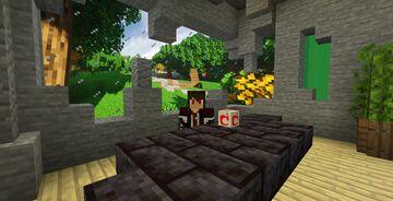 Mojang pot & green screen for tv set Minecraft Texture Pack