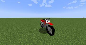 planes, guns and motorbikes in vanilla Minecraft Texture Pack