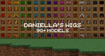 Daniella's wigs - Minecraft wigs! Minecraft Texture Pack