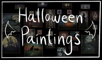 Halloween Paintings! Minecraft Texture Pack