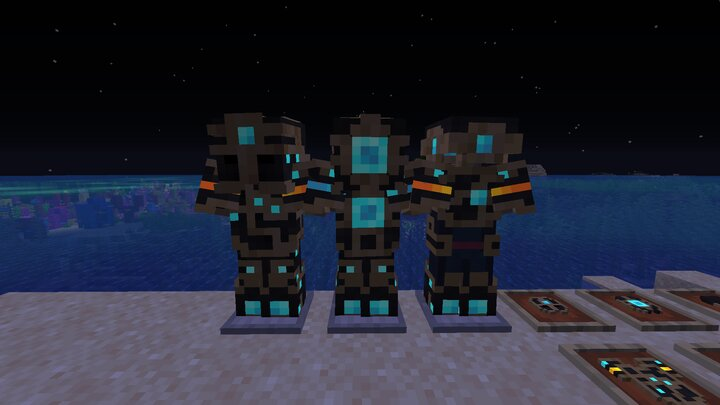 armor at night