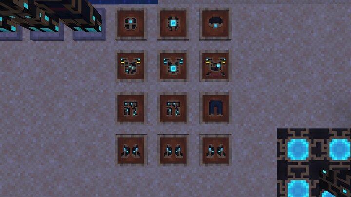 armor items at night