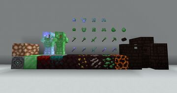 Green Netherite Minecraft Texture Pack