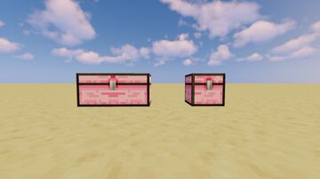 Pink Chests Minecraft Texture Pack