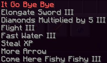 Different Enchantment Names Minecraft Texture Pack