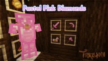 Pastel Pink Diamonds Minecraft Texture Pack